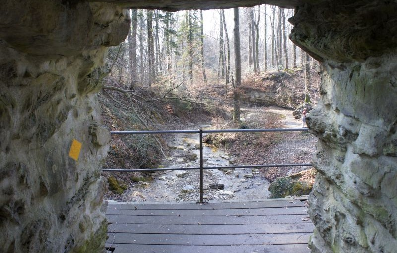 Meilen – Pfannenstiel – Forch: Eine Schlucht, eine Ruine und ein wandernder Turm