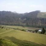 Tiefblick auf den Rhein