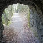 In einem der alten Tunnel