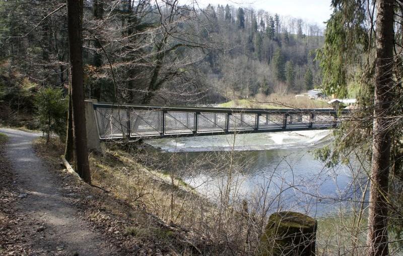 Sihlbrugg – Sihlsprung: Unterwegs im Wasserreservoir der Stadt Zürich
