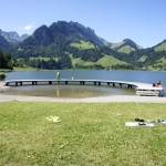 Badesteg am Schwarzsee