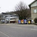 Stillgelegte Bahnstation Baden Oberstadt