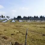 Solaranlage auf dem Mont Soleil