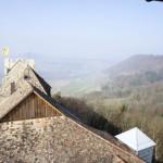 Aussicht von Burg Hohenklingen