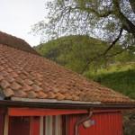 Das Ziel - Der Stockberg. Ansicht vom Ferienhaus Müsli