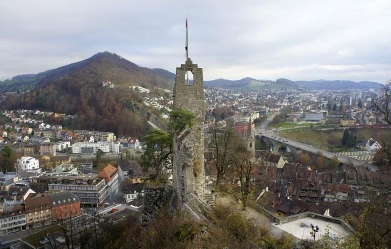 Baden – Baldegg – Dättwil: ein Spaziergang zum Wasser-Aussichtsturm