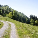 Aufstieg vom Tostel zum Stockberg
