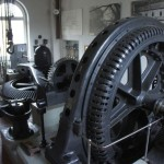 Alter Generator im Elektromuseum Kappelerhof