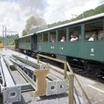 Nostalgie Dampfzug im Sihltal