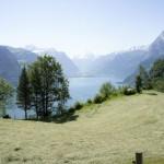 Blick über den Vierwaldstättersee, das Heu duftet
