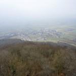 Nebelsicht vom Siblinger Randenturm