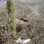 Tiefblick vom Schleitheimer Randenturm