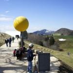 Die Sonne, der Start zum Planetenweg auf dem Weissenstein