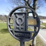 Planet Merkur, Planetenweg Weissenstein