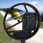 Unverkennbar der Saturn