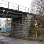 Alte Brücke der stillgelegten Bülach-Baden-Bahn