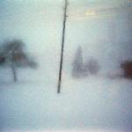 Blick aus dem Fenster der Rigibahn