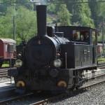 Dampflokomotive der DVZO