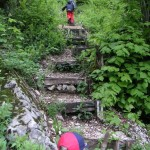 Aufstieg auf den Lägerngrat