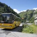 Postauto von Oberwald nach Andermatt