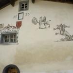 Wandmalereien in Waltensburg/Vuorz