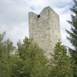 Bergfried der Ruine Jörgenberg