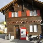 Station Rueun - Wanderende