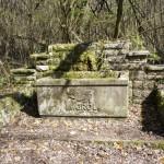 Erinnerung an vergangene Zeiten: Migrol-Brunnen