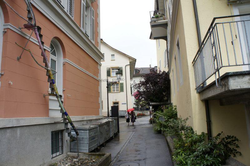 Einblick ins Bäderquartier, Baden