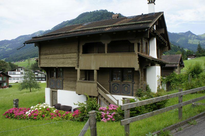 Altes Haus in Flüeli