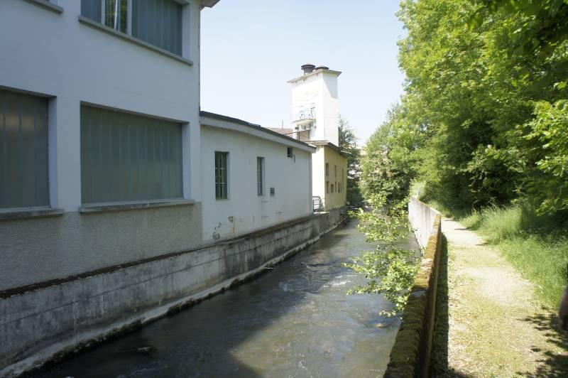 Am Aabach in Lenzburg