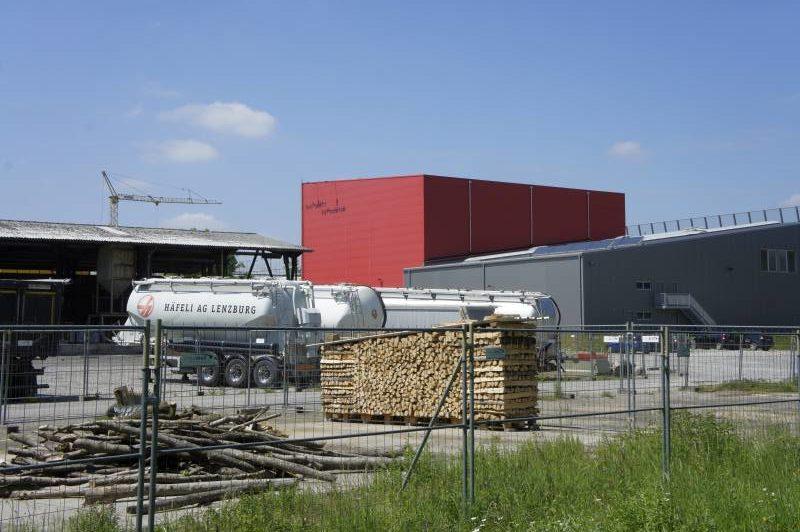 Mammut Gebäude Lenzburg