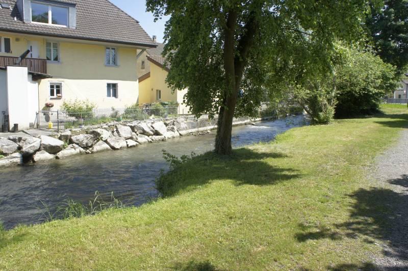 Am Aabach in Niederlenz
