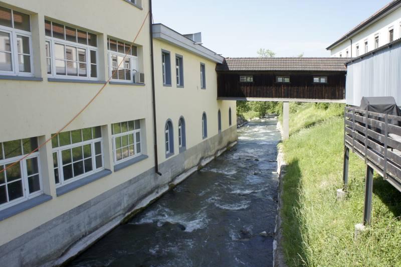 Hetex Gebäude Niederlenz