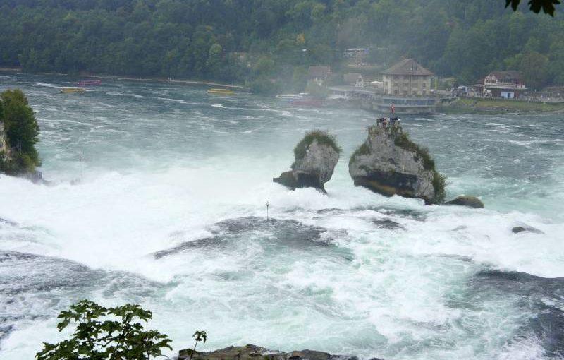 Der Rheinfall-Tippel: Schaffhausen – Dachsen