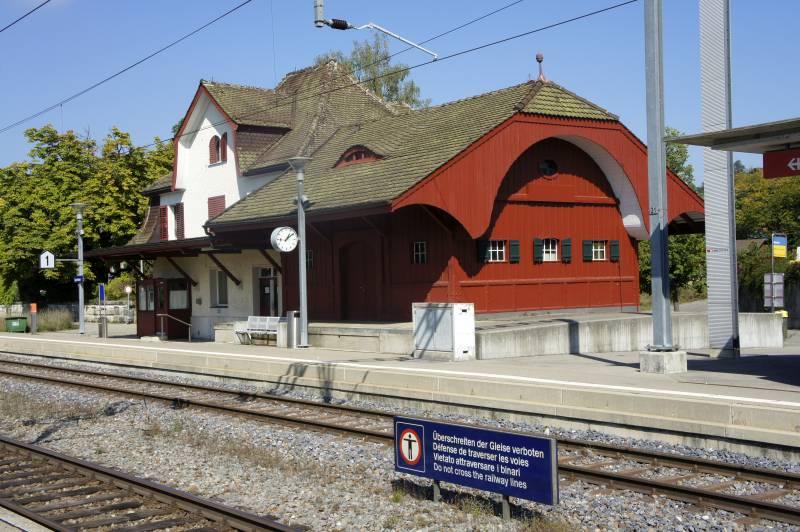 Bahnhof Dachsen