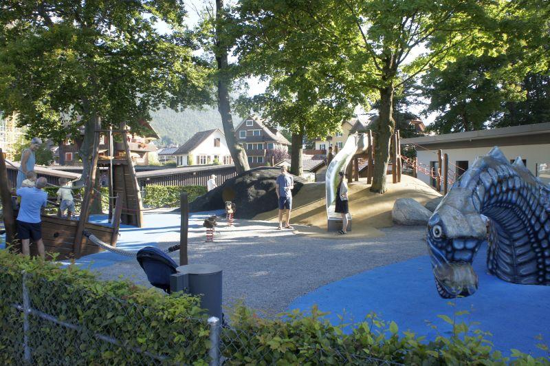 Spielplatz in Brunnen am See