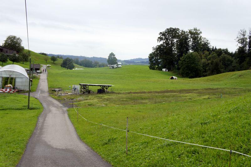 Bauernhofcamping im Zopf
