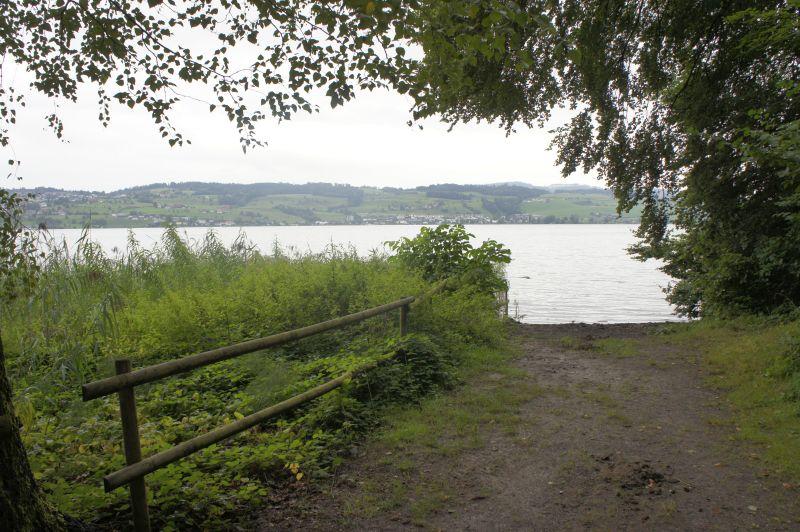 Am See, kurz vor dem nächsten Aufstieg