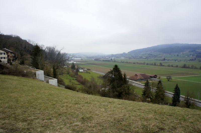 Kurz nach dem Wanderstart in Zetzwil
