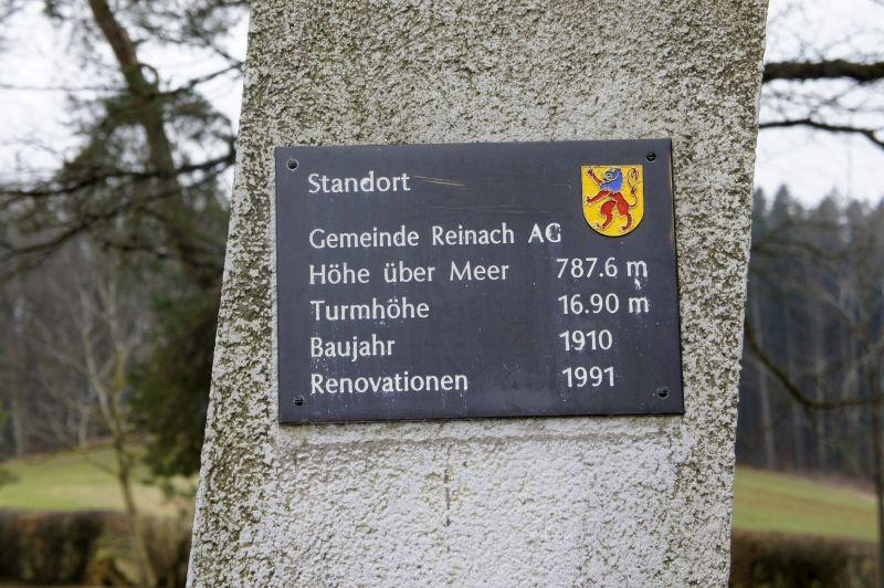 Infotafel Turm Hochwacht