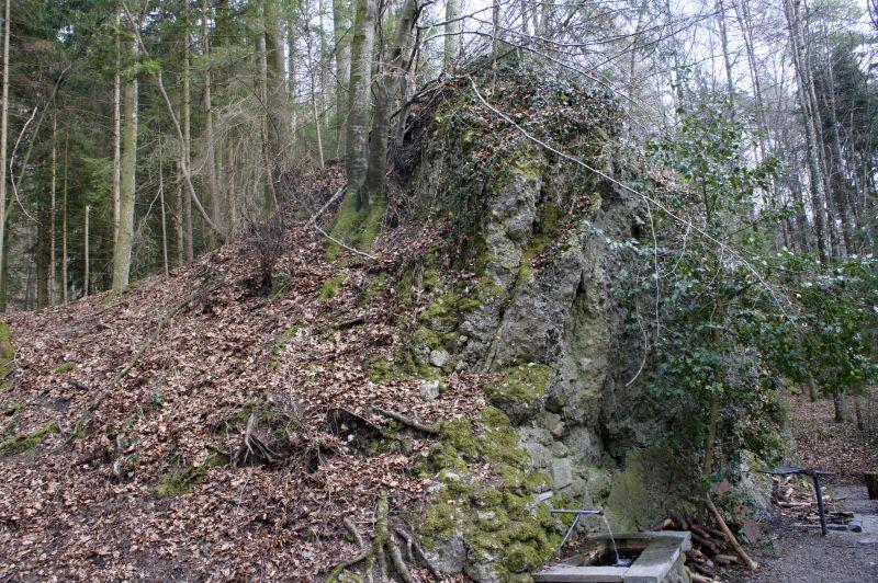 Schroffe Felsen gibt es nicht nur in den Alpen, sondern auch im Aargau
